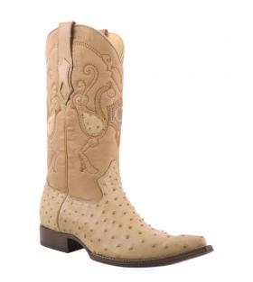 8e2a6df5d8 botas vaqueras para hombre de avestruz