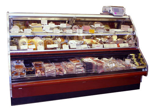 Comprar Refrigerated High Volume Deli Service and Self-Service Merchandiser