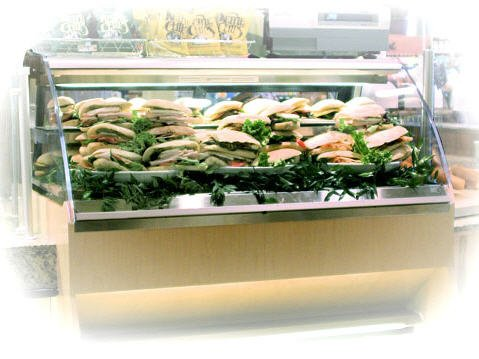 Refrigerated Service Deli - Top Only - Straight or Curved Glass