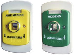 Sistemas para tuberia de gaces medicinales