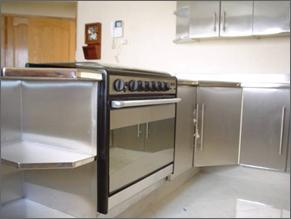 Cocina toda de acero inoxidable comprar cocina toda de - Cocina de acero inoxidable precio ...