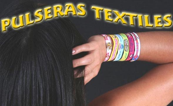 Comprar Pulseras textiles