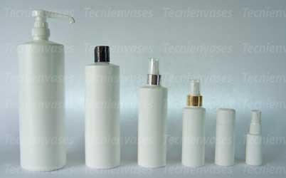 Botellas cilindricas de polietileno