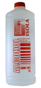 hoja de seguridad alcohol etilico: