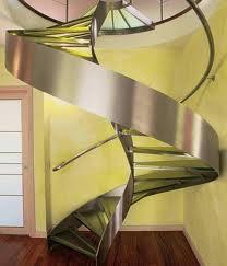 Escaleras de acero, México