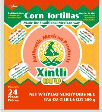 Comprar Tortilla de maíz