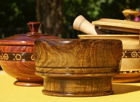 模仿漆装饰画木头锯末碟子