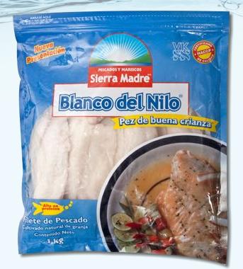 pez blanco del nilo