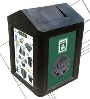 Comprar Contenedor de basura