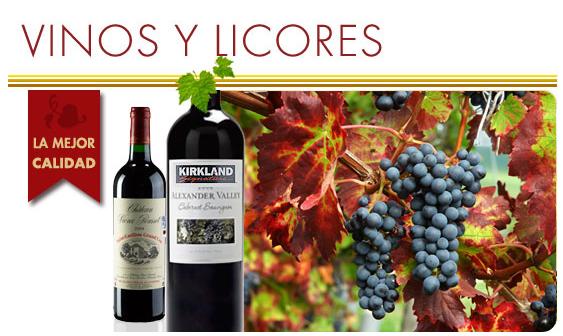 Comprar Vinos y licores