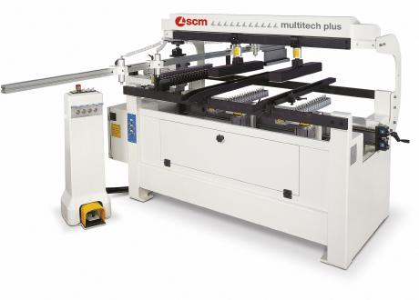 Comprar Taladro semiautomático con dos cabezales verticales y uno horizontal marca SCM modelo Multitech 3 Pl