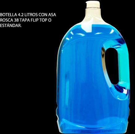 Comprar Botella 4.2 litros con asa