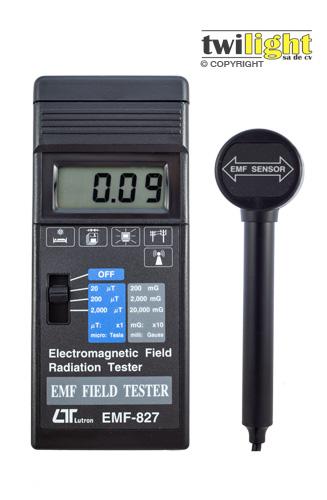 Comprar Gaussimetros Medidores de Campo / Gaussimetro portátil LT-EMF827