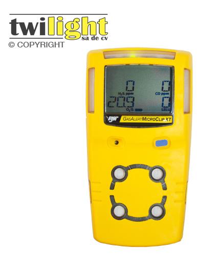 Comprar Medidor de Gases Multiples / Gas Alert Micro Clip BW-MC