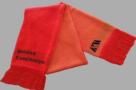 Comprar Bufanda doble cara con 3 colores y logo