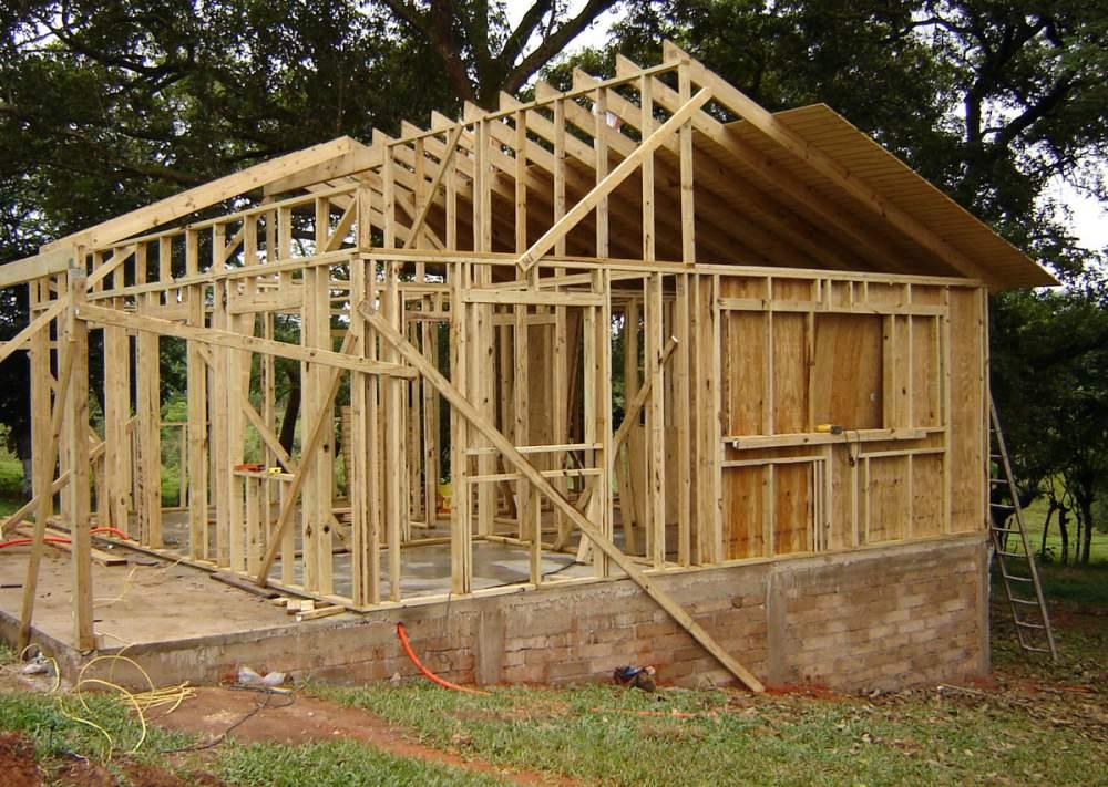 materiales de madera para cabaas