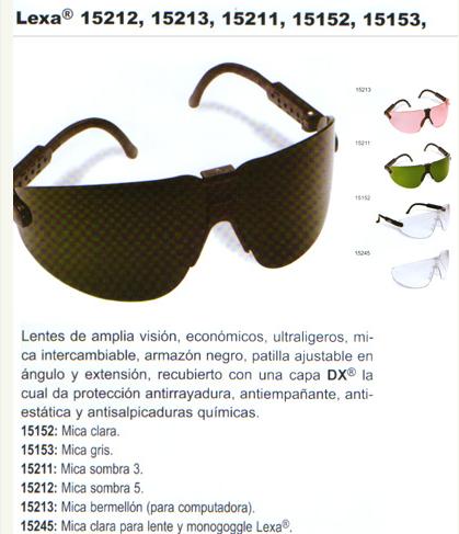 Comprar Gafas protectoras
