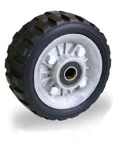 Comprar Ruedas de hule tipo tractor con ring de aluminio