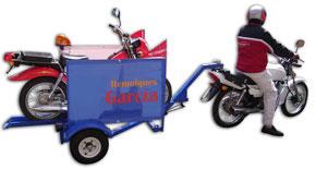 Comprar Remolque para moto porta moto