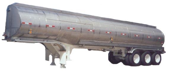 Comprar Semi Remolque Tipo Tanque Elíptico AC Inoxidable