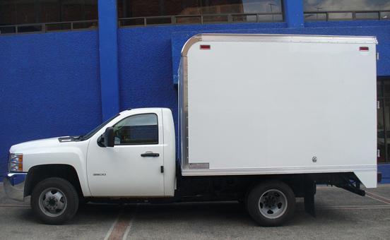 Comprar Carrocería tipo caja de carga seca con bordas en chasis f-450 y f-550 cava-f017