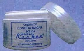 Comprar Crema de concha nacar 50 gr.