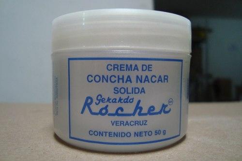 Comprar Crema de concha nacar 110 gr.
