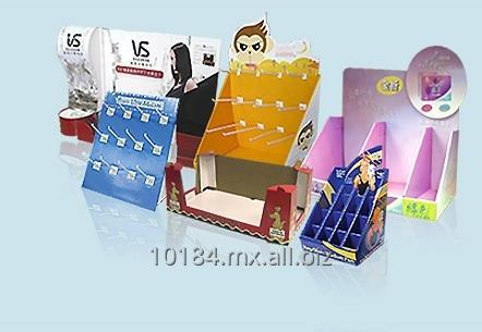 EXHIBIDORES Y DISPLAY DE CARTON