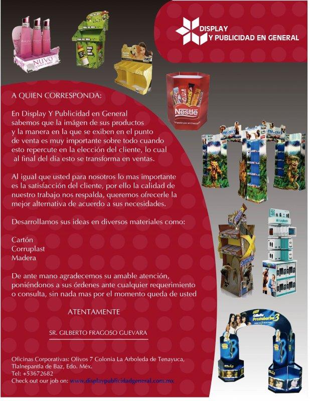Comprar DISPLAY Y PUBLICIDAD GENERAL