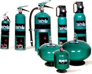 Comprar Extintor de gas agente limpio
