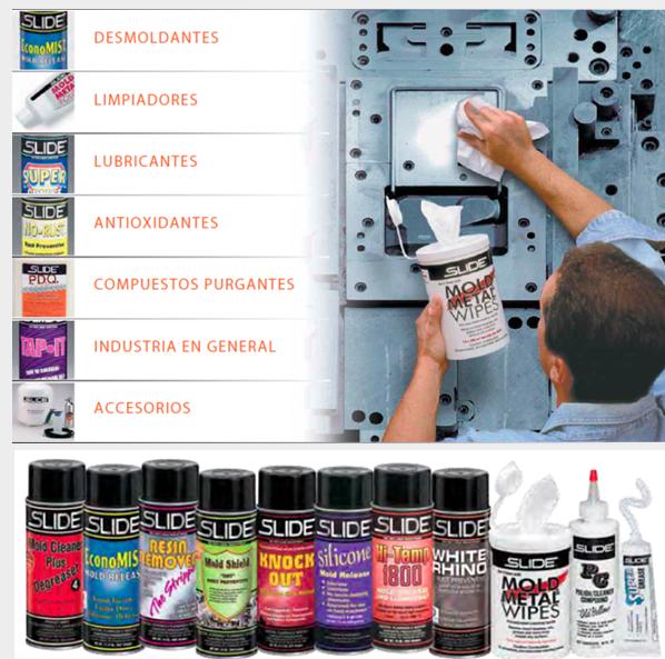 Comprar Desmoldantes, limpiadores, lubricantes, antioxidantes, compuestos purgantes