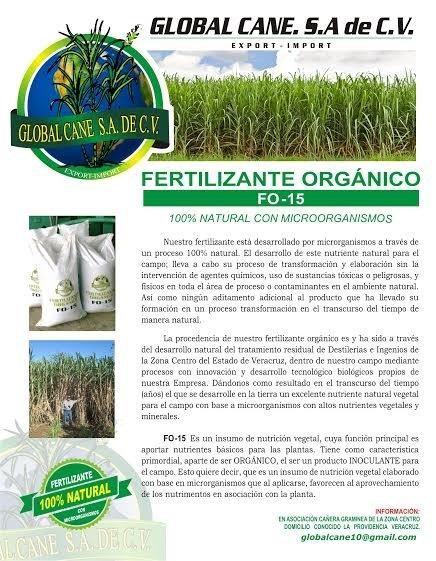 Comprar F0-15 Fertilizante orgánico