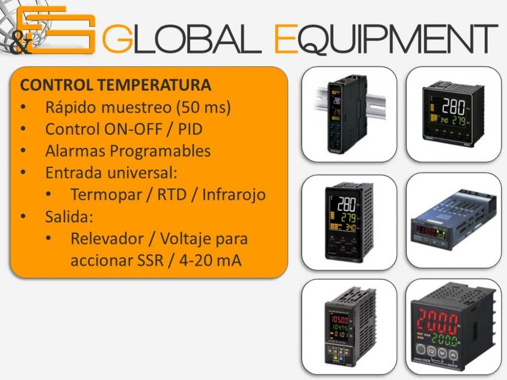 Comprar OMRON control temperatura y proceso