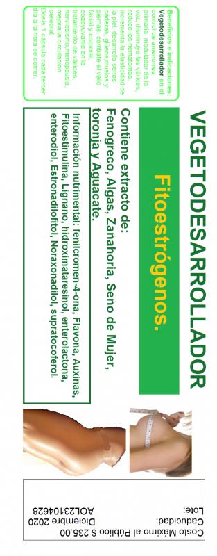 Comprar Producto de origen vegetal Vegetodesarrollador