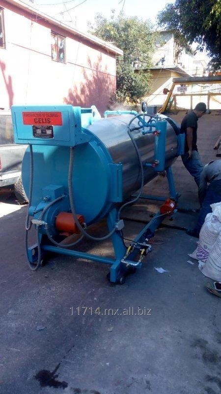 Comprar Generador de vapor de 40 hp nuevo en 4 pasos de fuego