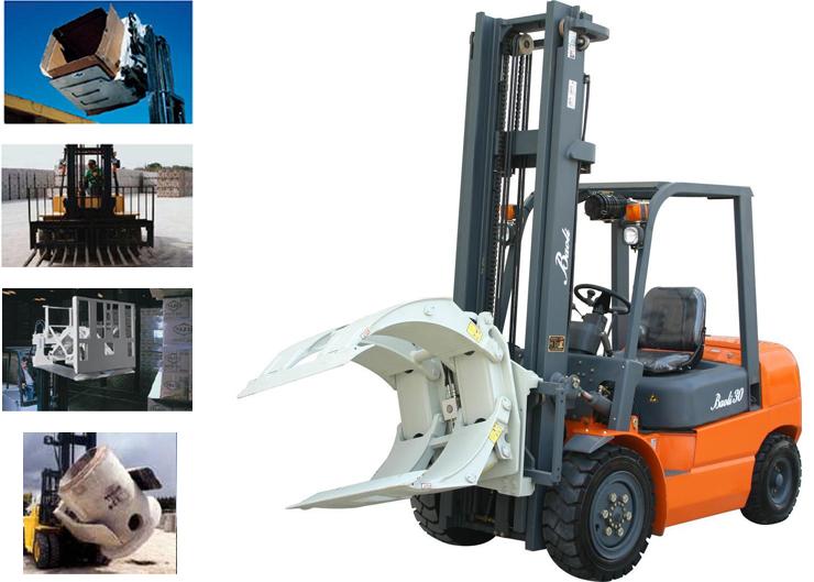 Comprar Aditamentos hidráulicos para manejo de materiales