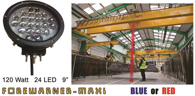 Comprar Forewarner blue spot light Maxi 24 Led para grúas aéreas
