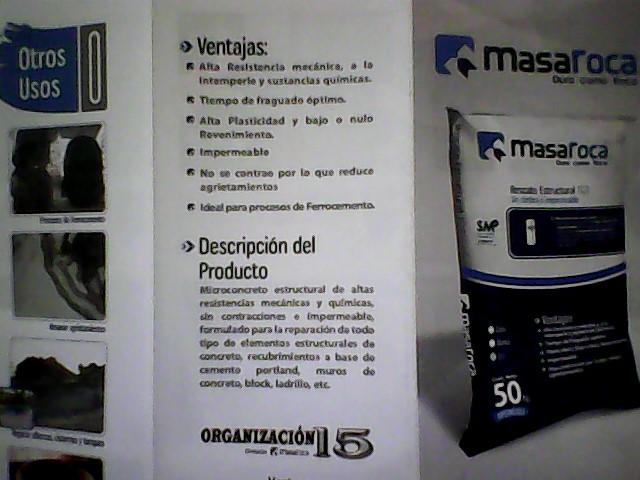 Comprar Masaroca