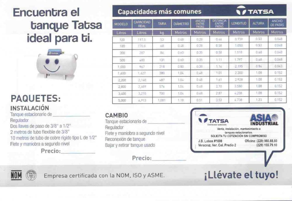 Comprar Equipos Y Accesorios Para Linea De Gas Lp