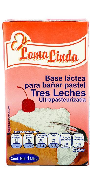 Comprar Base Láctea Tres Leches Loma Linda
