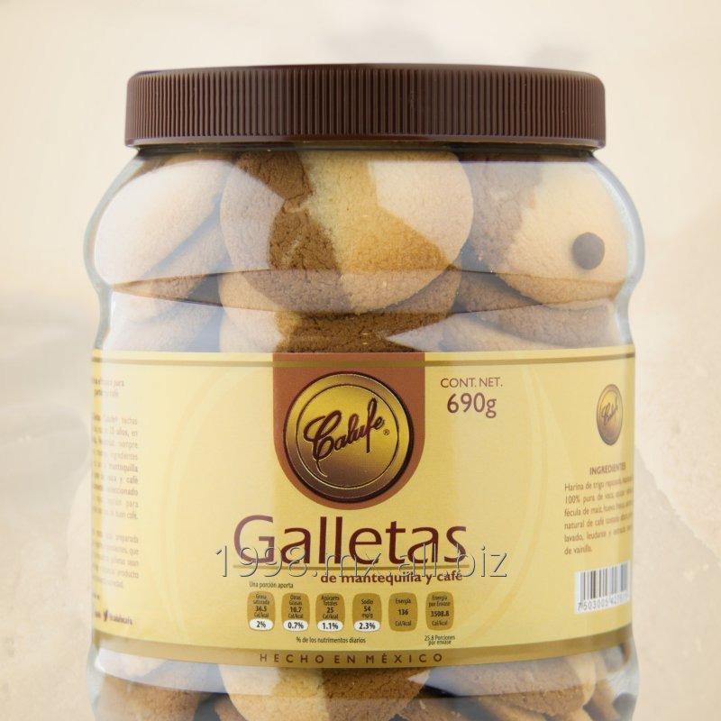 Comprar Galletas de Mantequilla y Café, frasco 690g