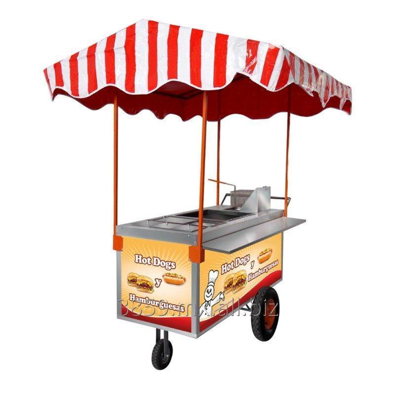 Comprar Carrito Para Hot Dogs Y Hamburguesas Mod CH 170