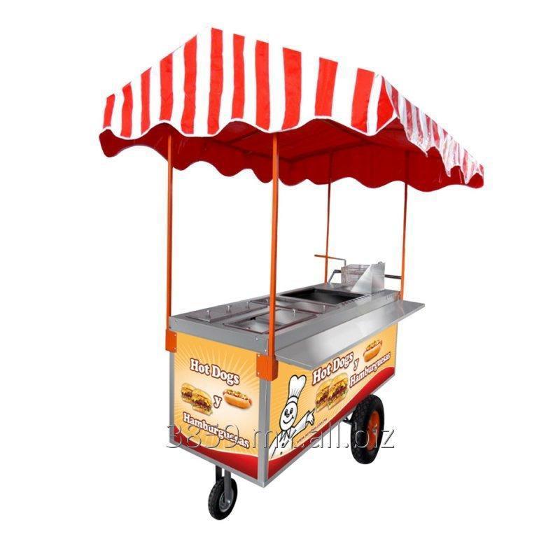 Comprar Carrito Para Hot Dogs Y Hamburguesas Mod CH 190