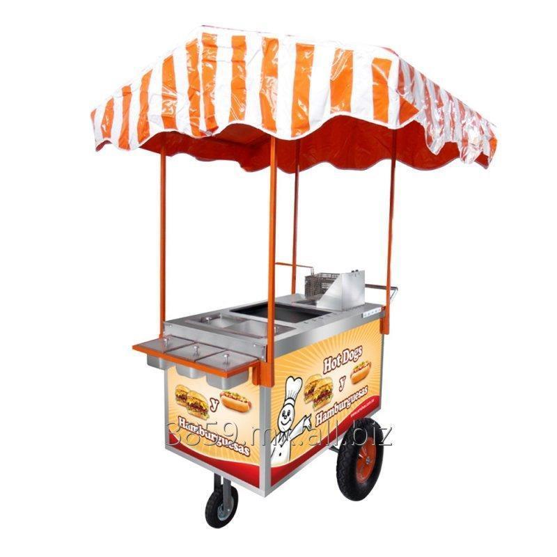 Comprar Carrito Para Hot Dogs Y Hamburguesas Mod CH 100