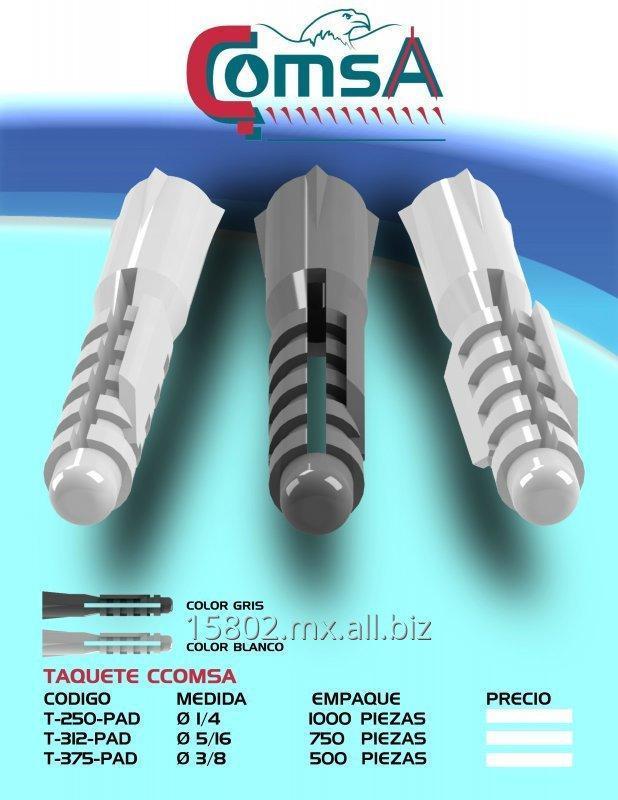 Comprar TAQUETES CCOMSA, PRODUCTOS DE INYECCIÓN DE PLÁSTICO