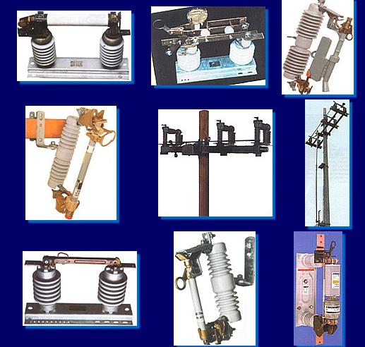Comprar Cortacircuitos fusible, cuchillas desconectadoras, interruptores y apartarrayos.