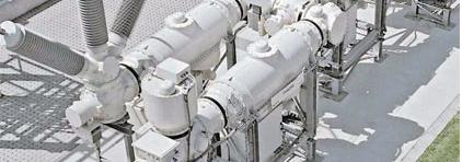 Economía, seguridad son las características de nuestras subestaciones aisladas por gas para tensiones nominales de 72.5 hasta 800 kV.