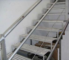 Escaleras de metal en México
