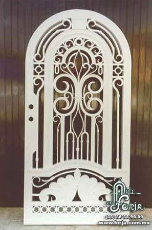 Puertas de metal.