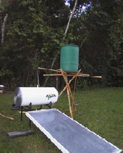 Colector Solar Domestico.